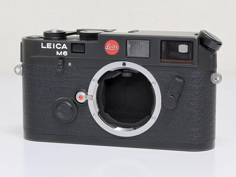 Leica M6 ブラック/レンジファインダーカメラ1枚目