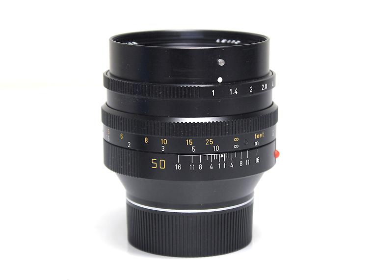LEITZ ライカ NOCTILUX-M ノクチルックス F1 50mm レンズ1枚目
