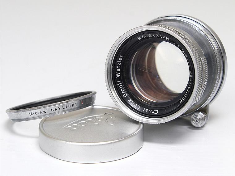 Summicron ズミクロン F2 5cm(50mm) レンズ1枚目