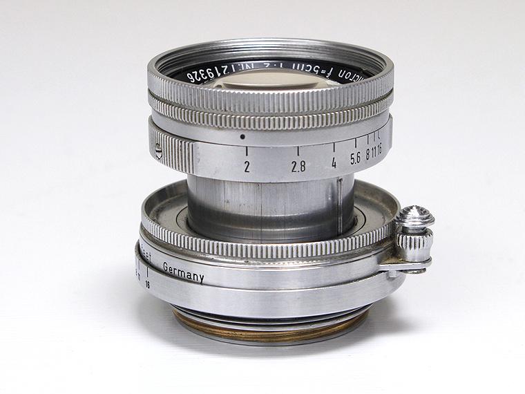 Summicron ズミクロン F2 5cm(50mm) レンズ3枚目