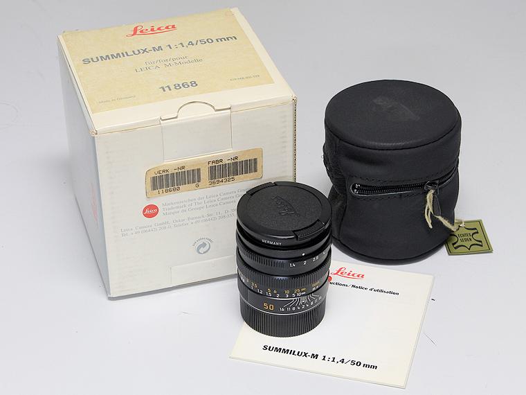 LEICA(ライカ) SUMMILUX-M(ズミルックス)F1.4 50mm レンズ5枚目