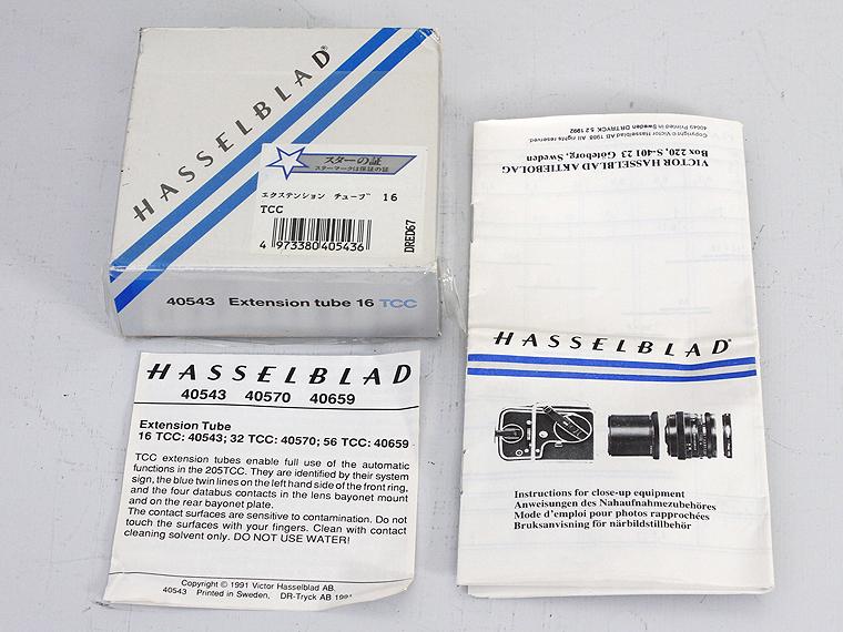 HASSELBLAD(ハッセルブラッド)エクステンションチューブ 16 TCC4枚目