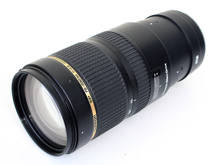 TAMRON タムロン SP70-200mm F2.8 Di VS USD レンズfor Canon1枚目