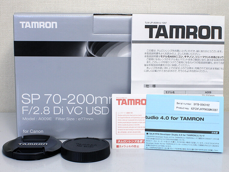 TAMRON(タムロン) SP70-200mm F2.8 Di VS USD4枚目