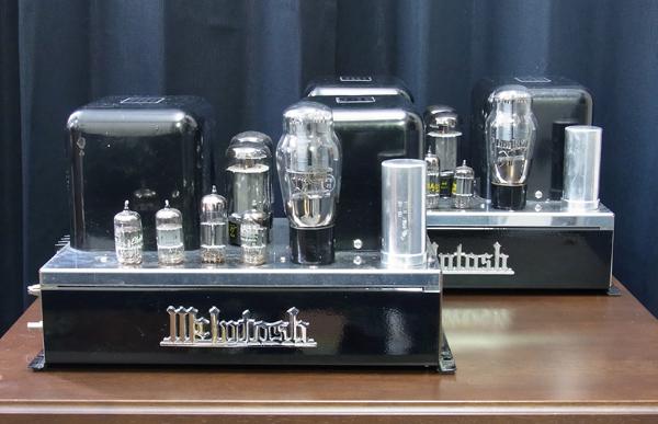 McIntosh MC30 パワーアンプ
