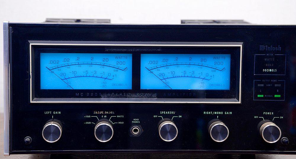 McIntosh マッキントッシュ MC2205 パワーアンプ