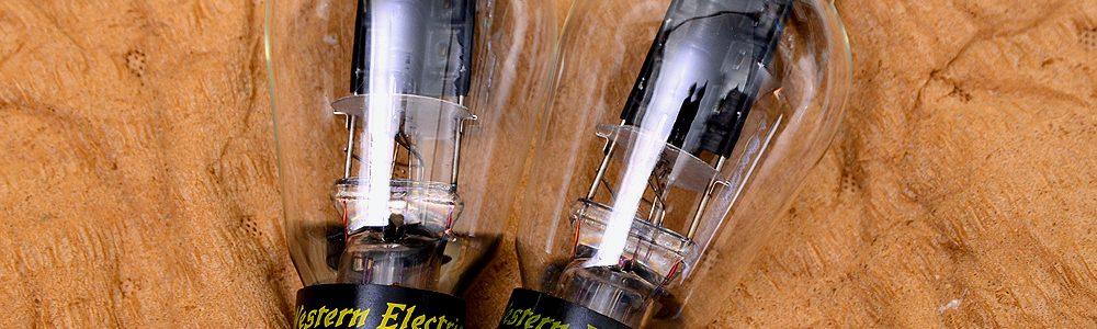 Western Electric ウェスタン・エレクトリック WE300B 真空管ペア