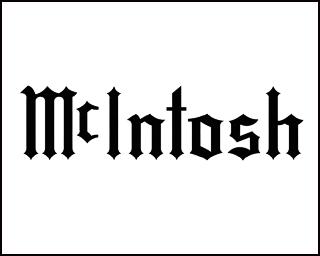 McIntoshロゴ