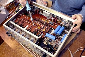 オーディオの修理について