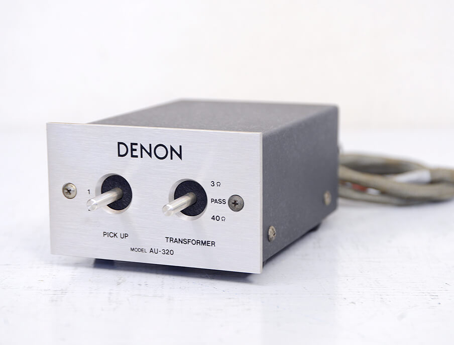 DENON AU-320 昇圧トランス