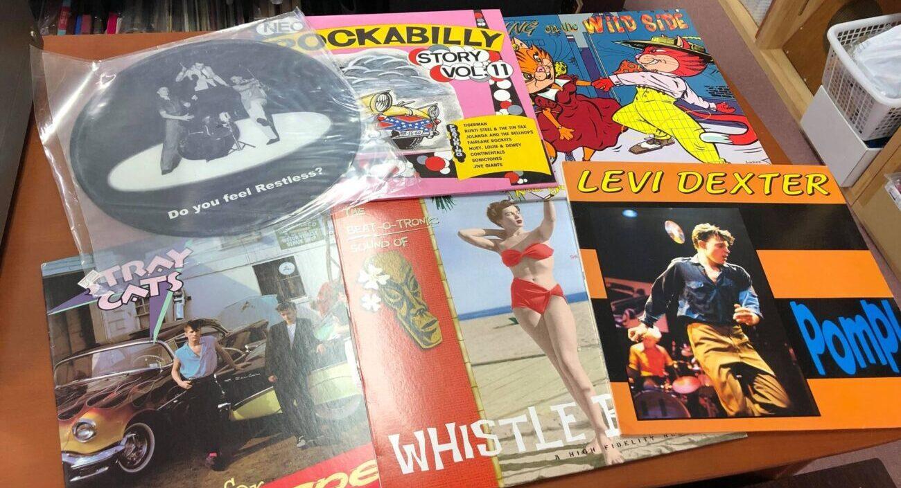 ロック、ロカビリーレコード