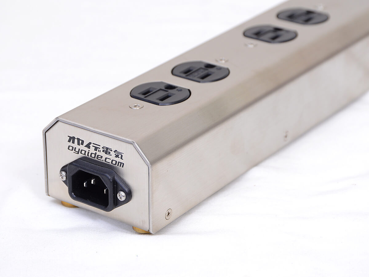 オヤイデ電気 小柳出電気 MTS-6 オーディオ用電源タップ