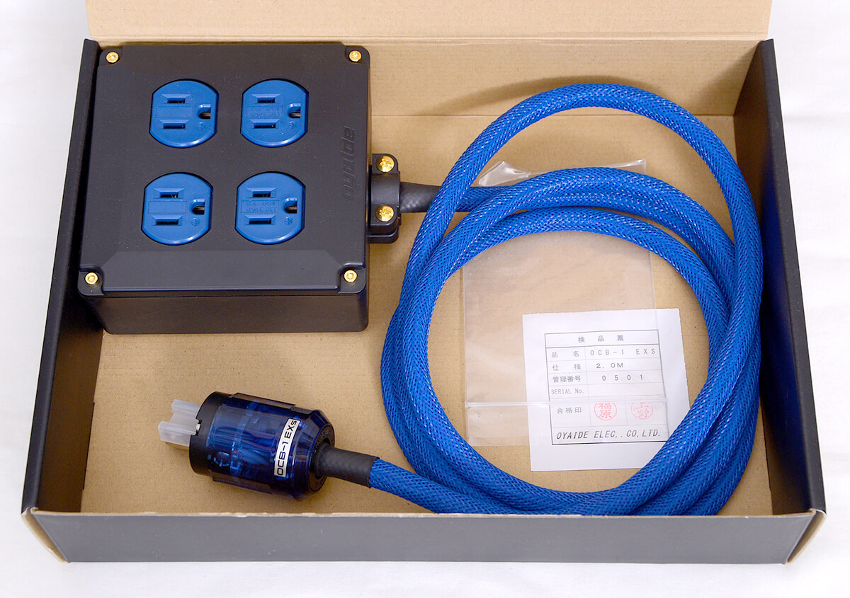 オヤイデ OCB-1 EXs 4口電源タップ