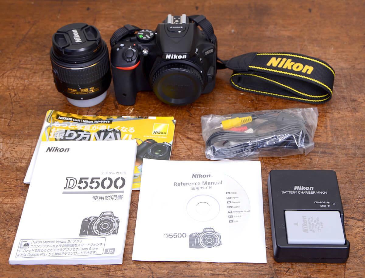 NIKON D5500 デジタルカメラ