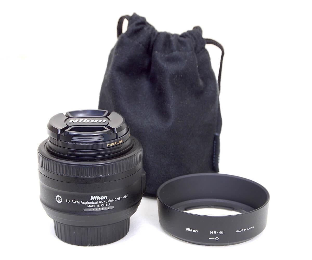 Nikon ニコン AF-S DX NIKKOR 35mm f/1.8G 単焦点標準レンズ