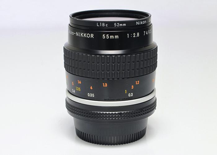 <!--記入-->Micro-NIKKOR Ai-S 55mm f2.8 マクロレンズ1枚目