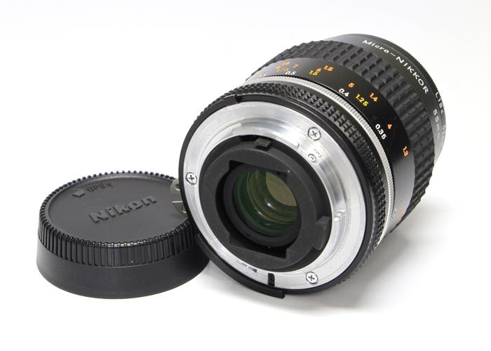 <!--記入-->Micro-NIKKOR Ai-S 55mm f2.8 マクロレンズ4枚目