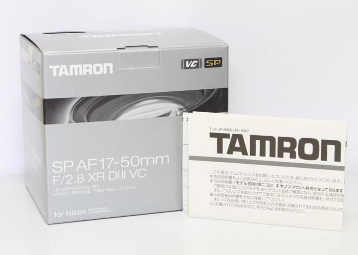 <!--記入-->TAMRON タムロン SP AF 17-50mm F/2.8 XR Di ll VC レンズ for Nikon4枚目