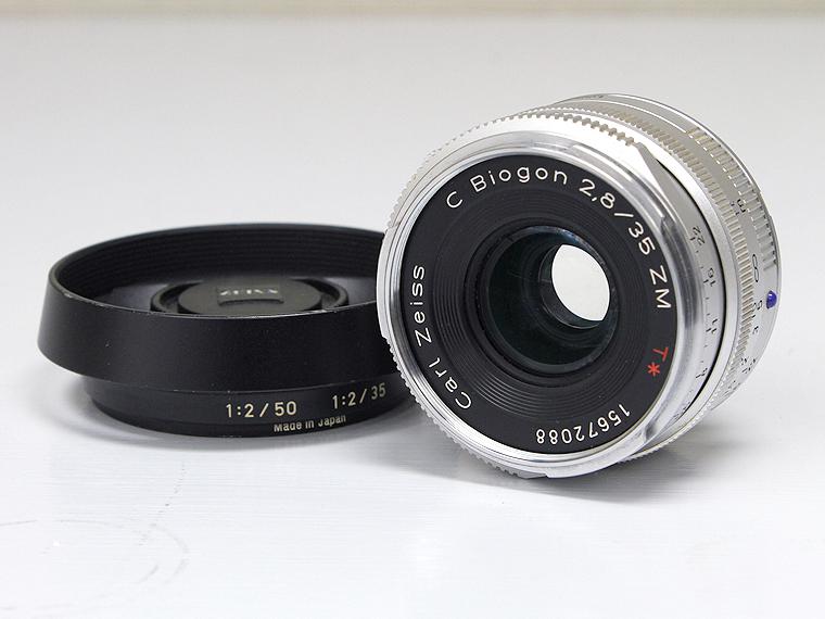 Carl Zeiss(カールツァイス)/C Biogon 35mm f2.8 ZM T* レンズ1枚目