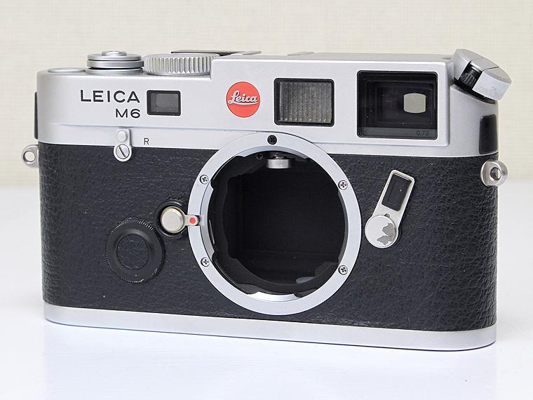 LEICA(ライカ)M6 シルバー TTL0.72 レンジファインダー1枚目