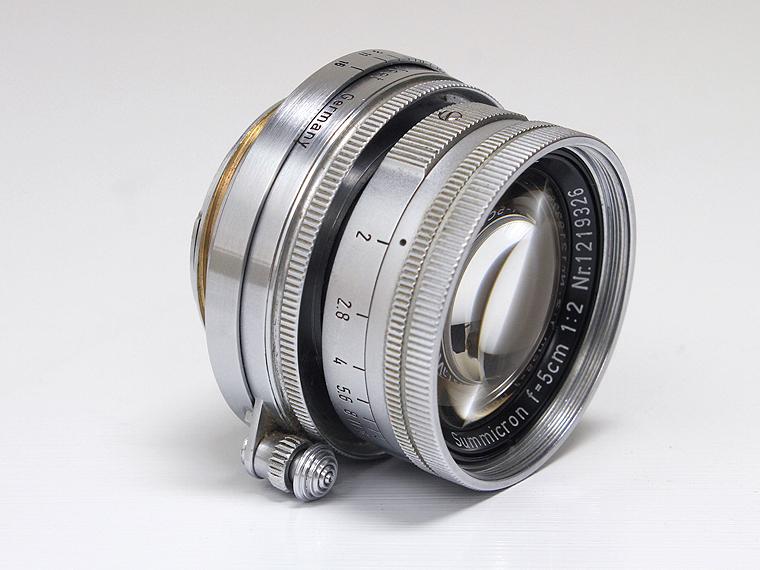 Summicron ズミクロン F2 5cm(50mm) レンズ2枚目