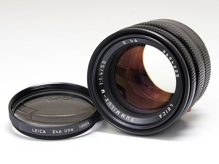 LEICA(ライカ) SUMMILUX-M(ズミルックス)F1.4 50mm レンズ1枚目