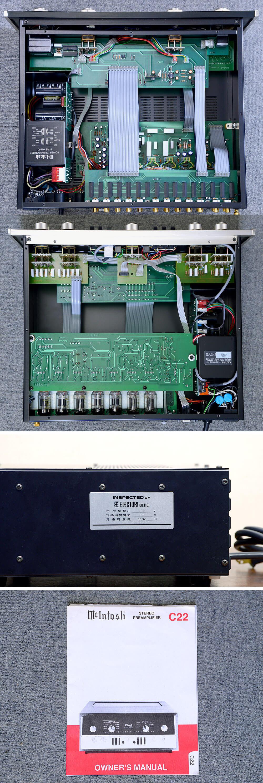 McIntosh マッキントッシュ C22 レプリカ 真空管コントロールアンプ5枚目