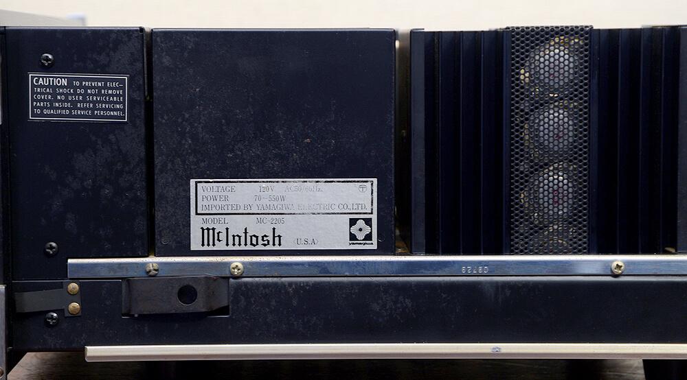 McIntosh マッキントッシュ MC22054枚目
