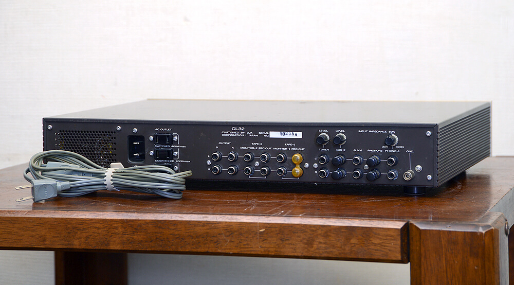 LUXMAN ラックスマン CL32 コントロールアンプ3枚目