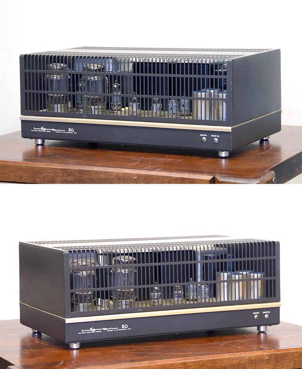 LUXMAN ラックスマン MQ80 真空管パワーアンプ1枚目