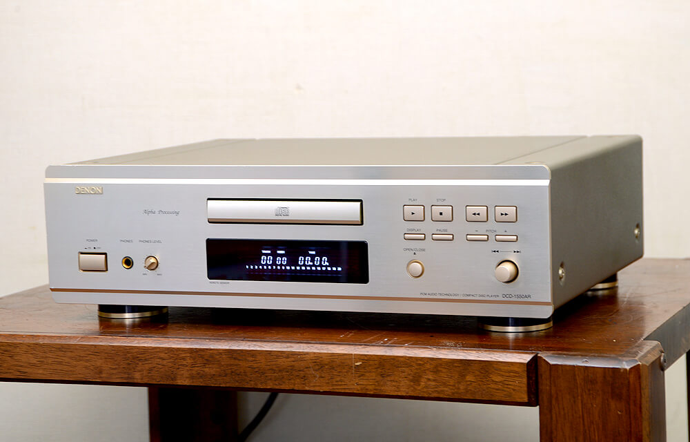 DCD-1550AR CDプレーヤー1枚目