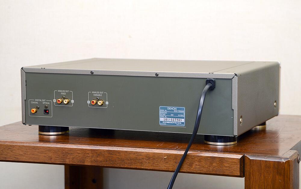DCD-1550AR CDプレーヤー3枚目