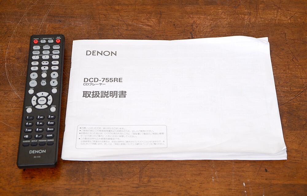 DCD-755RE CDプレーヤー5枚目