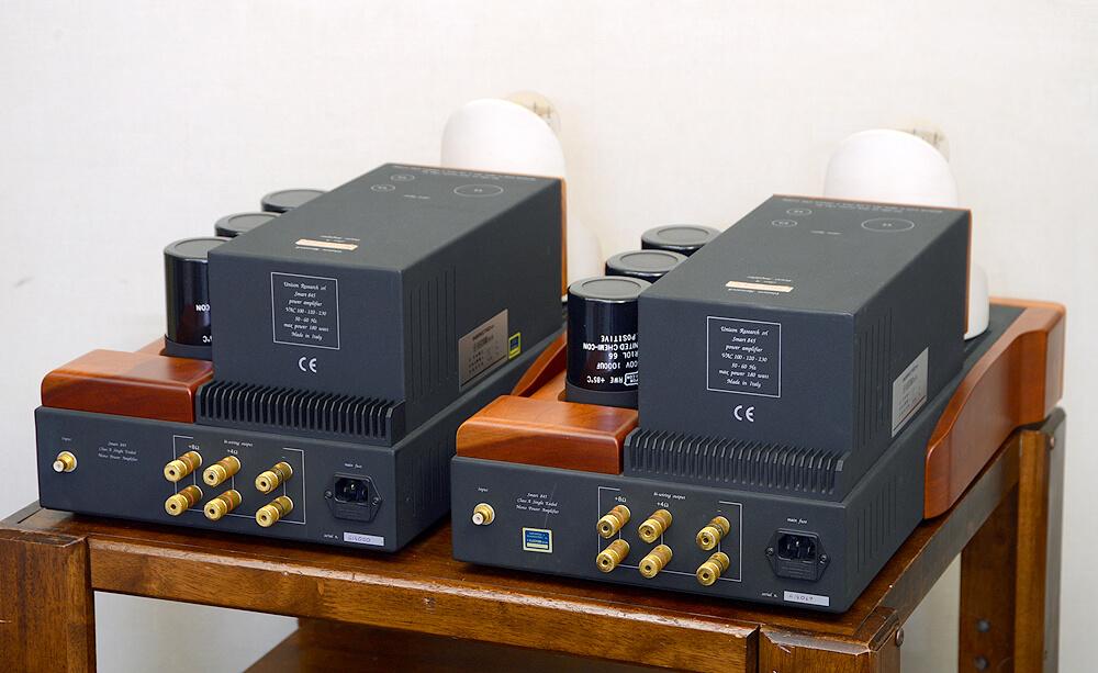 Unison Research ユニゾンリサーチ Smt 845 真空管モノラルパワーアンプ3枚目