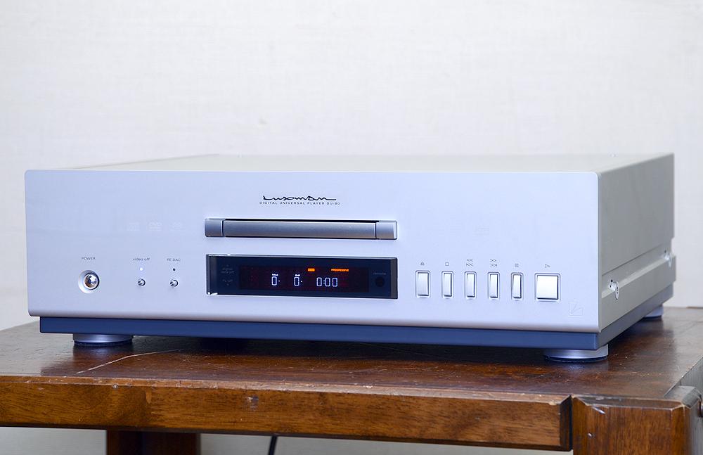 LUXMAN DU-80 デジタルユニバーサルプレーヤー1枚目