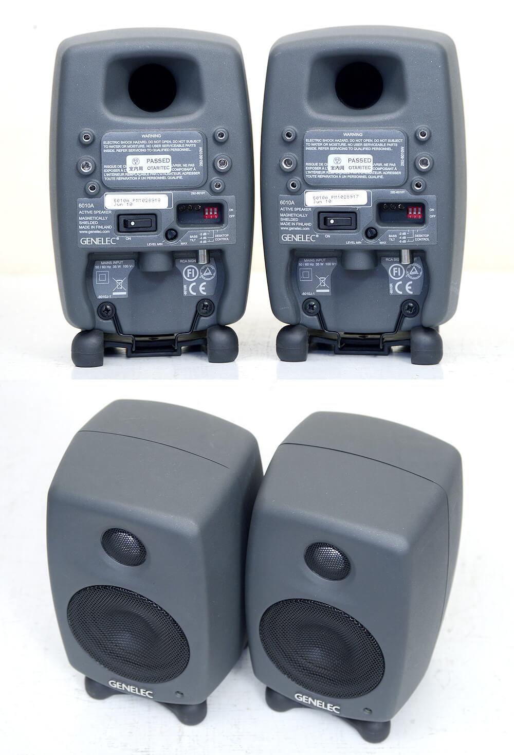 GENELEC 6010A パワードモニタースピーカー3枚目