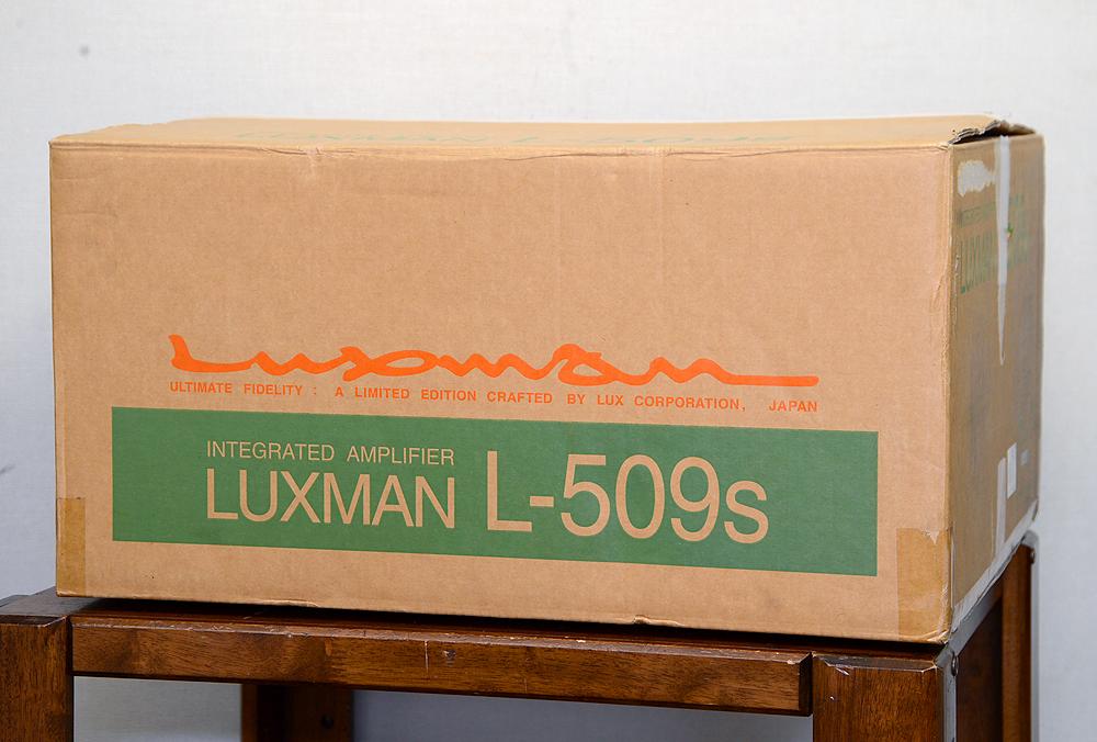 LUXMAN L-509s プリメインアンプ5枚目