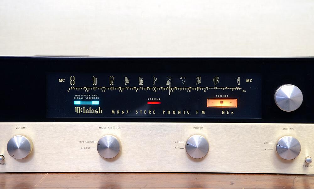 McIntosh MR67 真空管FMチューナー5枚目