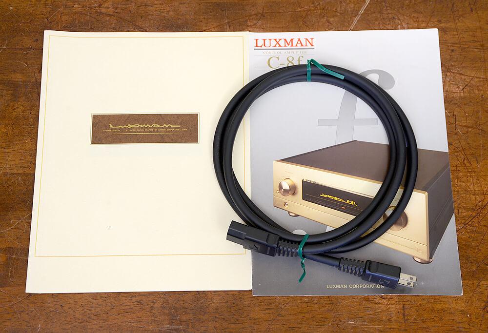 LUXMAN C-8f コントロールアンプ6枚目