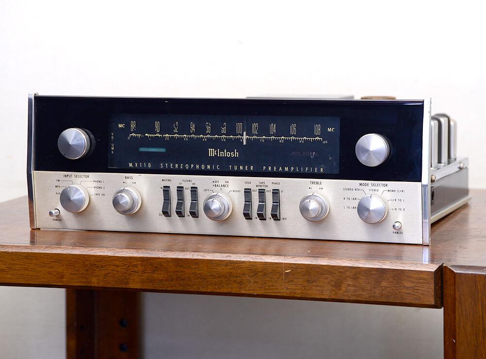 McIntosh MX110 真空管チューナープリアンプ1枚目