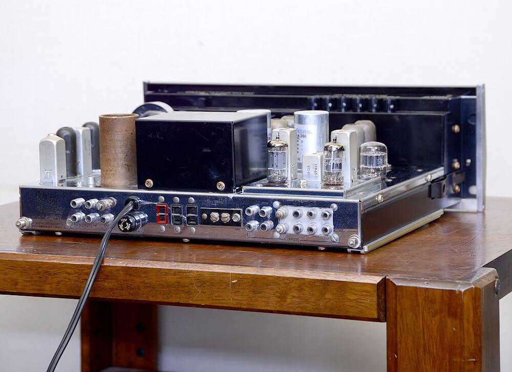 McIntosh MX110 真空管チューナープリアンプ3枚目
