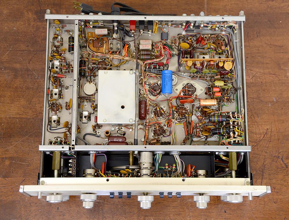 McIntosh MX110 真空管チューナープリアンプ5枚目