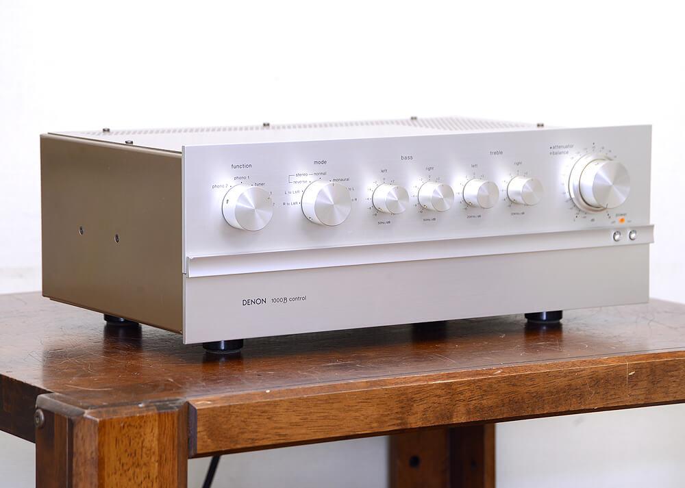 DENON PRA-1000B 真空管コントロールアンプ2枚目