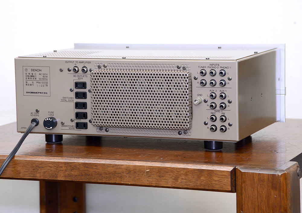 DENON PRA-1000B 真空管コントロールアンプ3枚目