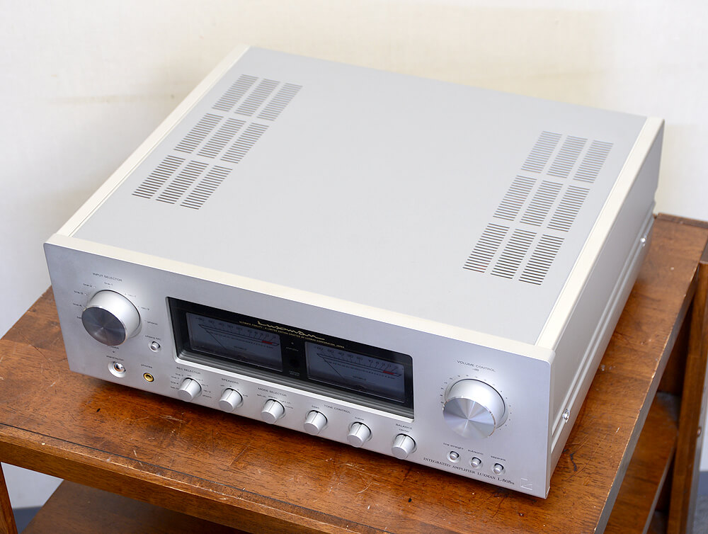 LUXMAN L505u プリメインアンプ4枚目