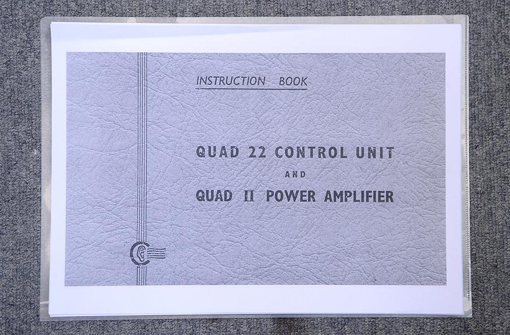 QUADⅡ+22 真空管モノラルパワーアンプ+プリアンプ 4枚目