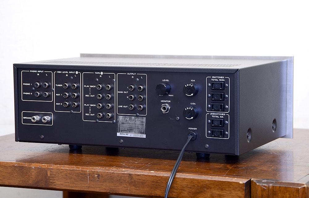 DIATONE DA-P100 コントロールアンプ3枚目
