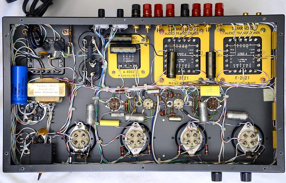 オーディオ専科 PROFESSOR-4 真空管パワーアンプ5枚目
