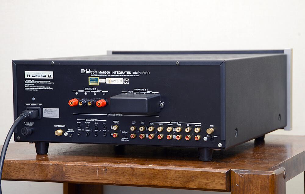 McIntosh MA6500 プリメインアンプ3枚目