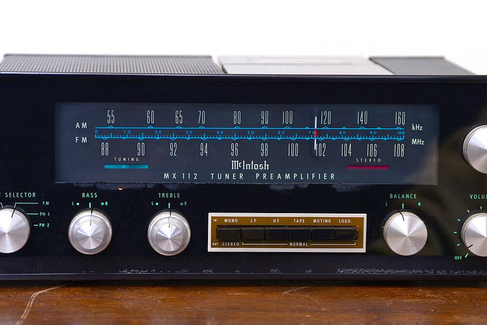 McIntosh MX 112 チューナープリアンプ5枚目